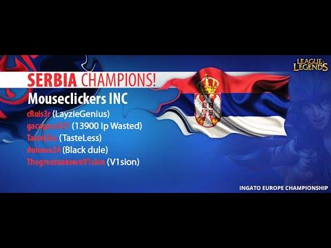 Ingato EU Championship! Lithuania vs Serbia