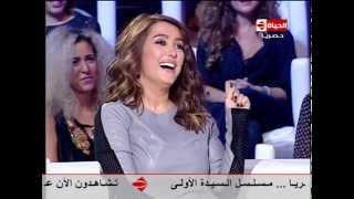 برنامج Back to school - أغرب قفزه من النجمة الجميلة كندة علوش وتعليق عمرو يوسف