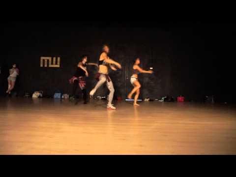 DOBLA RODILLA | Reggaeton Fusion | Pop Up Dance Intensive 2 | Choreo by Ann Bedenyuk
