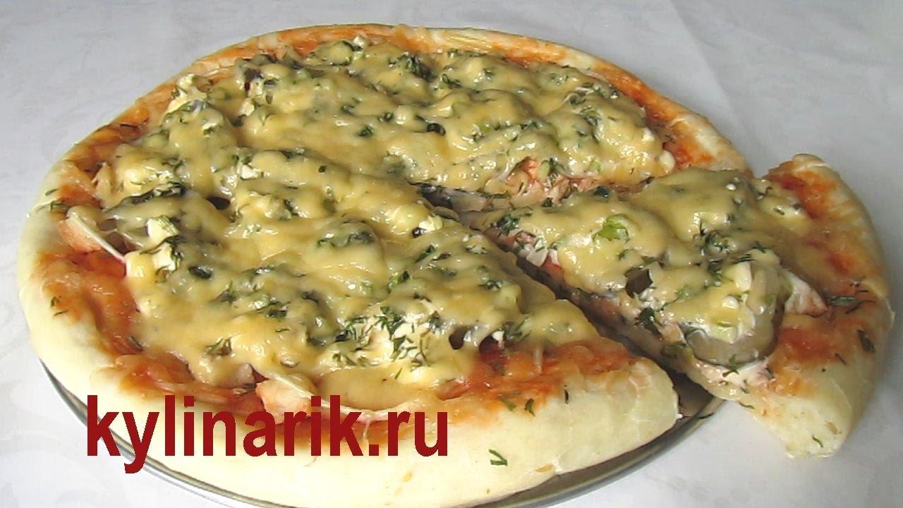 Классический рецепт пиццы в духовке в домашних условиях 220