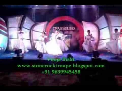 Stone Rock Dance Troupe (namokar Mantra Vandhana Perform Pooja Bisht & S.r.d.c) video
