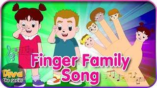 Download Lagu Diva Finger Family Song -  Lagu Jari Jariku bersama Diva | Diva bernyanyi | Diva The Series Official Gratis STAFABAND