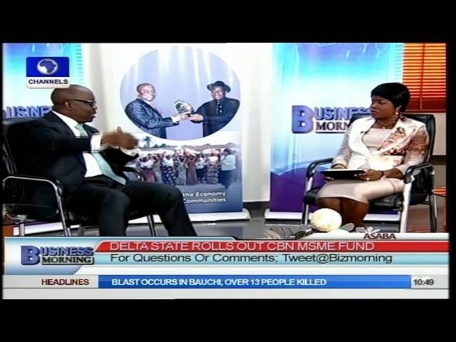Business Morning: MSME Fund Will Exist As Long As Delta Does - Gov Uduaghan Pt.2