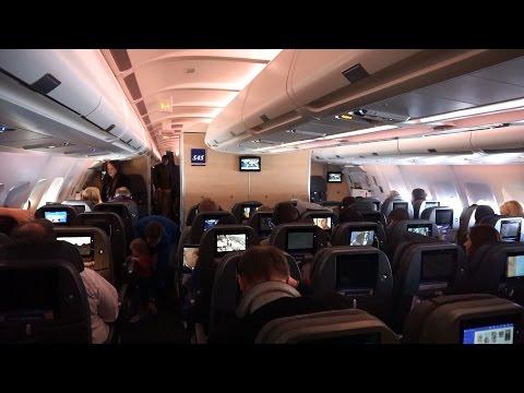 New Cabin! SAS Scandinavian Airlines ✈ Airbus A330-300 ✈ Copenhagen - Washington ✈ 13 NOV 2015