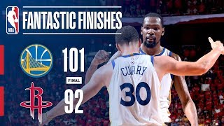 Warriors Rally Back In The Second Half To Win Game 7 Of The Western Conference Finals