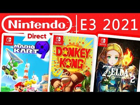 Nintendo E3 Direct ABLAUF & Leaker Predictions zu neuen Switch Spielen - Zelda, Donkey Kong & mehr