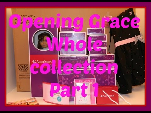 Grace Thomas Whole Entire Collection Goty 2015 American Girl Doll Part 1 Hd Please Gardenmomof2