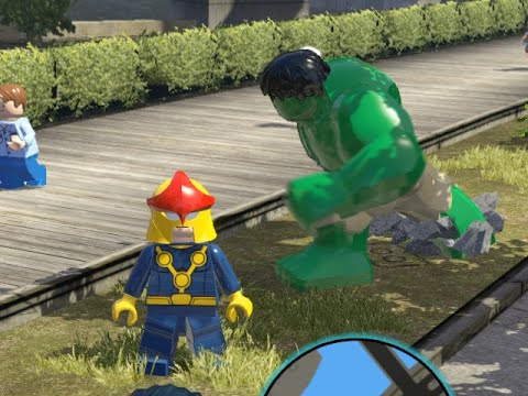 LEGO Marvel Superheroes - Multiplayer FREE ROAM GAMEPLAY