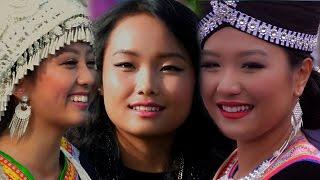 Hmong Fresno New Year 2015-2016-Nkauj Hmoob USA Zoo Cuag Nkauj Zaj