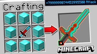 THE MOST OP MINECRAFT SWORD EVER!! (Kill Any Mob)