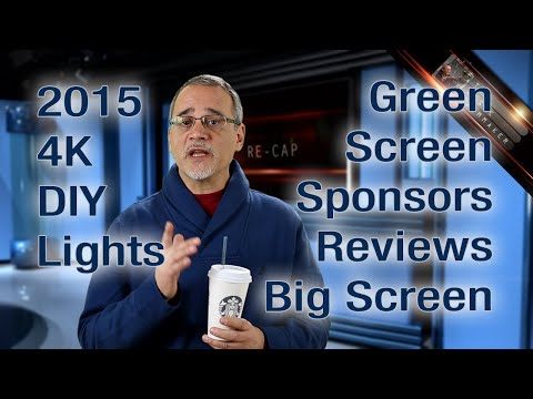 2014. 4K. DIY. Lights. Green. Sponsors. Reviews. Big Screen. & More! Basic Filmmaker Ep 113