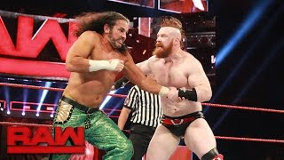 Choose the Stipulation Match - Matt Hardy vs. Sheamus: Raw, May 22, 2017
