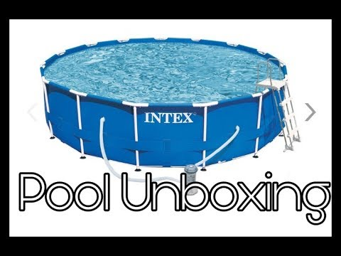 Intex Pool Unboxing und Aufbau    Reborn Baby Deutsch