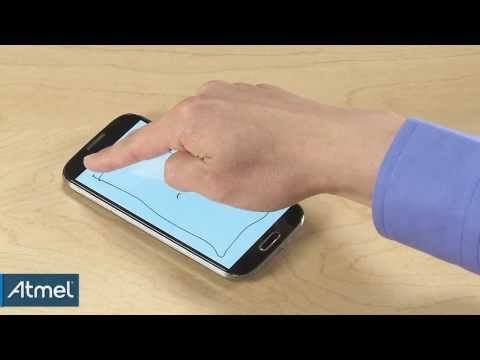Atmel: maXTouch T-Series Touchscreen Controller Finger Hover Demo