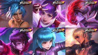 ALL KING OF FIGHTER (KOF) SKIN REVIEW - Who's The Most Worthy SNK Special Epic Skins Mobile Legends