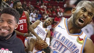 NO CP3 SLANDER TILL NEXT WEEK! Houston Rockets vs Oklahoma City Thunder - Full Game Highlights