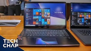 Asus Zenbook Pro (2018) Hands-On Review - Two Screens!! | The Tech Chap