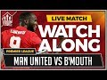 Manchester United vs Bournemouth LIVE Team News