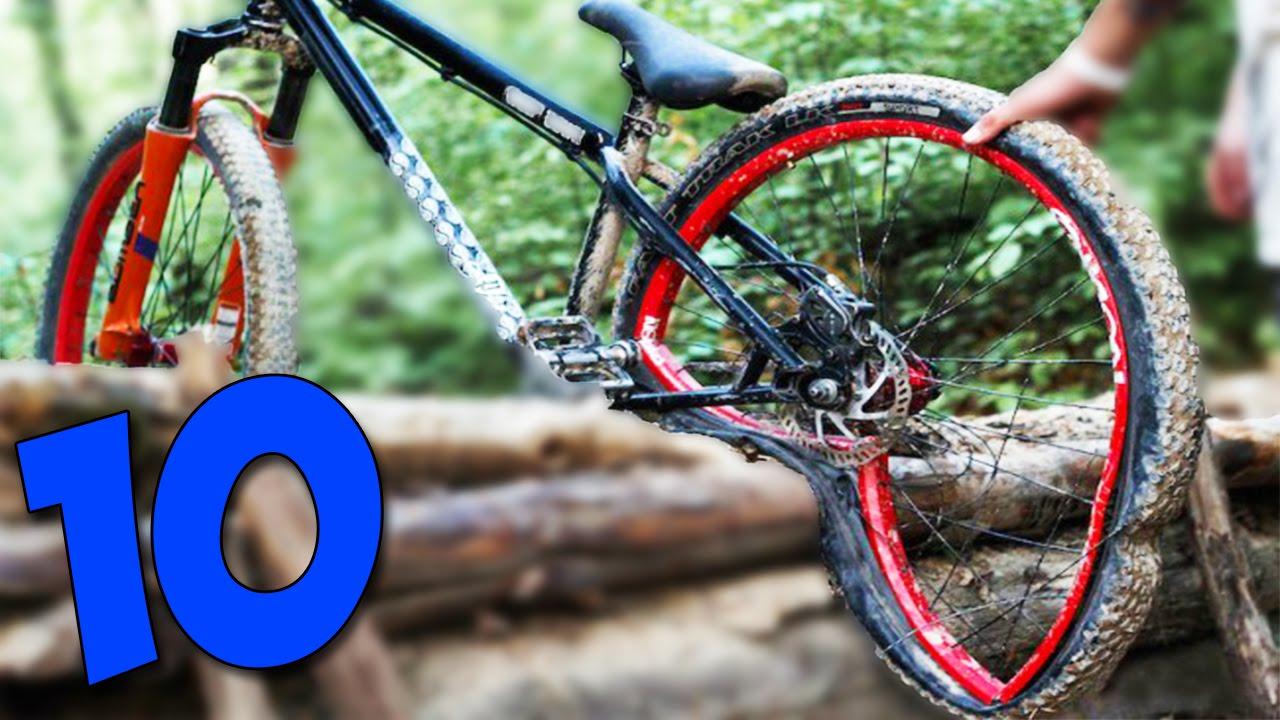 Как сделать из горного велосипеда