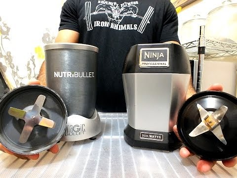 NutriBullet Versus Ninja | How To Make & Do Everything!