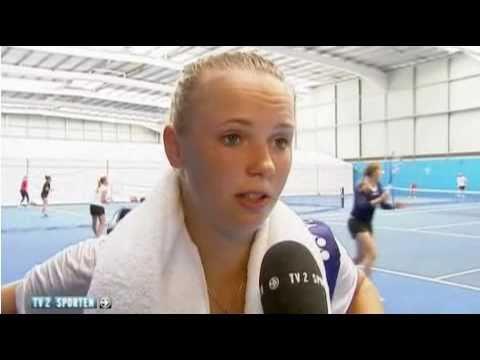Caroline Wozniacki Practice Australian Open 2011