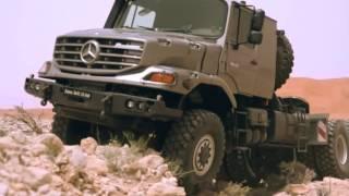 King trucks mercedes Zetros-3643 6x6 |ملكة الصحراء مرسيدس زيتروز