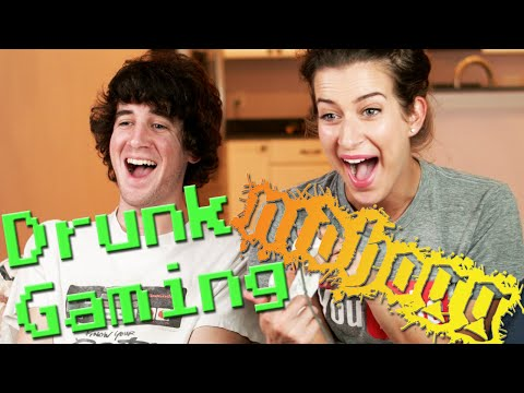 Drunk Gaming - Nidhogg