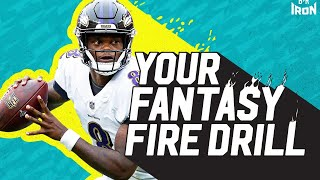 "B/R's Matt Camp Answers Your Fantasy Football Questions (""Your Fantasy Fire Drill"")"