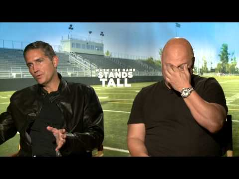 When The Game Stands Tall: Jim Caviezel & Michael Chiklis Official Movie Interview