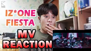 (ENG SUB) [MINI REACTION] 아이즈원- 피에스타 뮤비 리액션 | IZ*ONE - FIESTA MV REACTION