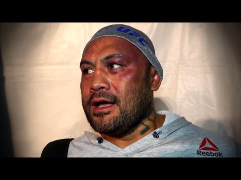 UFC 200: Mark Hunt Reacts to Brock Lesnar Loss