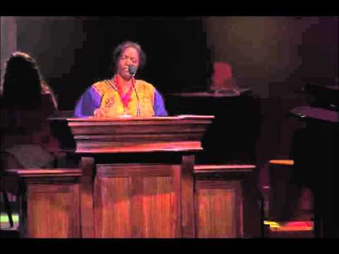 Reverend Carolyn McCall-Livingston Texas United Methodist Annual Conference 2013