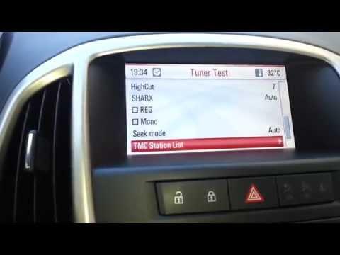 Hidden menu DVD 800 Opel Astra J