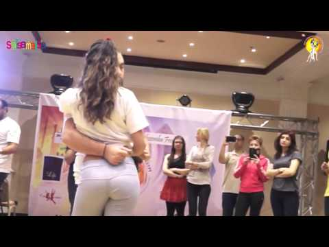 Maria & Sako Kizomba Dance Workshop Demo-2 | 1.EIDC