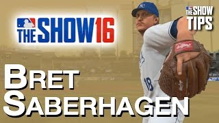 MLB The Show 16  - BRET SABERHAGEN legend pitcher breakdown