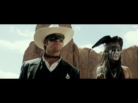 THE LONE RANGER movie Trailer 3 w/ Johnny Depp & Armie Hammer