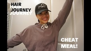 My Hair Journey and a Cheat Meal
