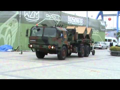 MSPO 2010 International Defense Industry Exhibition Jelcz truck scattered mine laying platform.wmv