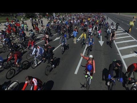 """Международный велокарнавал """"VIVA РОВАР - 2017"""" прошел в Минске"""