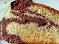 Eggless Marble Cake in Pressure Cooker | Swirled Marble Tea Time Cake | MadhurasRecipe