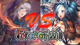 Force of Will (TCG) Feature Match: Mono Red Alisaris Vs. GBW New Sacred Beasts