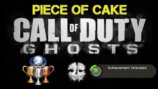 "CoD Ghosts ""Piece of Cake"" Achievement / Trophy Guide 