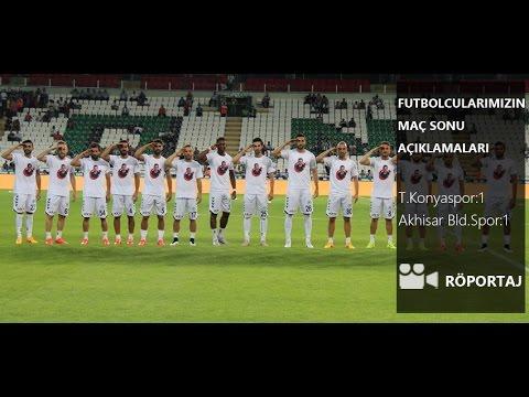 Futbolcularımız Ali �amdalı, Volkan Fındıklı ve Kaya Tarakçı'nın Akhisar Belediyespor maçı sonrası görü�leri.