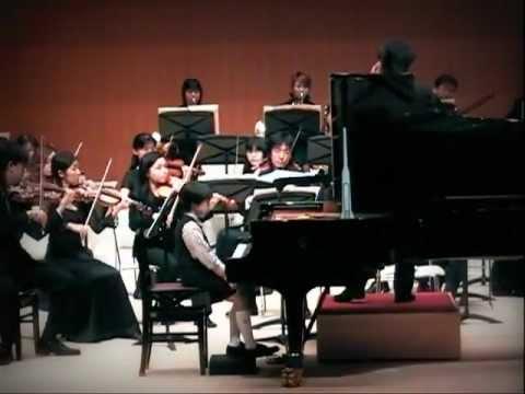 Sonosuke Takao plays Mozart-Piano Concerto No.19(1st mvt.)