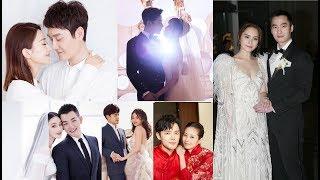 Những đám cưới đẹp nhất 2018 của sao hoa ngữ