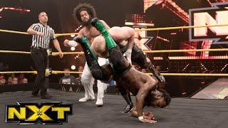 No Way Jose & Rich Swann vs. SAnitY: WWE NXT, Dec. 7, 2016