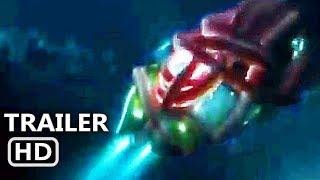 """THE MEG """"Megalodon Vs Giant Squid"""" Trailer (NEW 2018) Jason Statham, Shark Movie HD"""