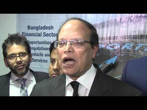 Dr Atiur Rahman Speaking at the UKBCCI Seminar London