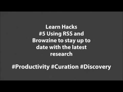 Learn Hacks #5 Using RSS & Browzine