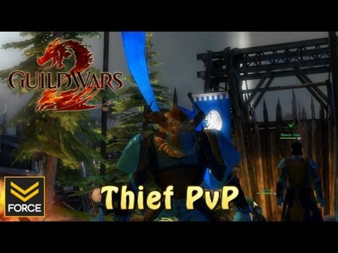 Guild Wars 2 - Thief PvP (Gameplay)